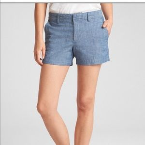 "Gap: NWT 3"" City Shorts in Chamray"